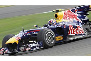 British GP 2010 Mark Webber Red Bull with Renault engine