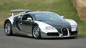 Bugatti Veyron Pur Sang (limited edition of just 5 cars) 2009 silver black Goodwood