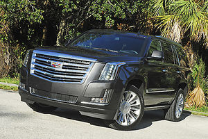 Cadillac Escalade Platinum (4x4) 2016 Black metallic