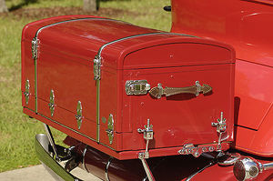 Cadillac Fleetwood All-Weather Phaeton (Model 355) 1931 Red