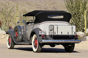Cadillac V16 Sport Phaeton 1930 Grey & red