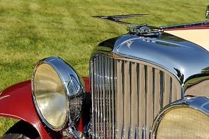 Duesenberg Model J 1930 Red & cream
