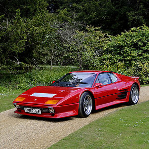 Ferrari 512BB 1979 Red