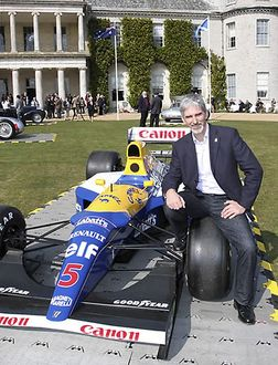 Festival of Speed Press Day Damon Hill