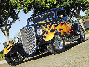 Ford 3-Window Coupe Hotrod