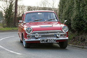 Ford Cortina Mk.1 GT , 1965, Red