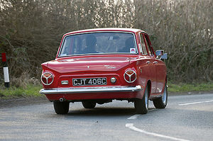 Ford Cortina Mk.1 GT 1965 Red