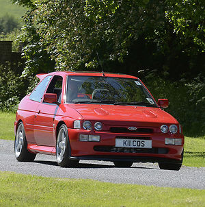 Ford Escort Cosworth 1993 Red
