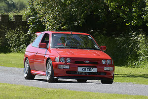Ford Escort Cosworth, 1993, Red