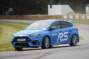 Ford Focus RS, 2015, Blue, light