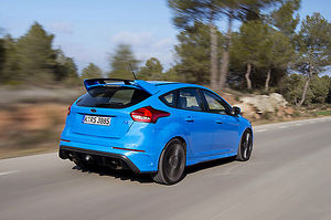 Ford Focus RS, 2016, Blue