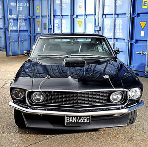 Ford Mustang 428, 1969, Black