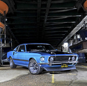 Ford Mustang Mach 1 1969 Blue
