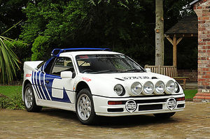 Ford RS200, 1989, White, & blue