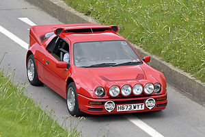 Ford RS200, 1990, Red