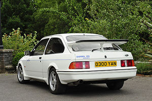 Ford Sierra RS Cosworth 1987 White