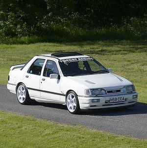 Ford Sierra Sapphire Cosworth, 1990, White