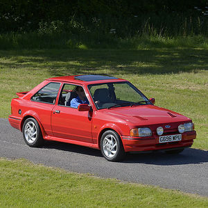 Ford XR3i 1989 Red