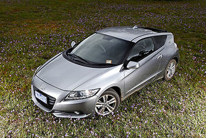 Honda CR-Z 2011 Grey metallic