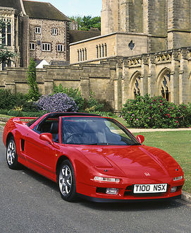 Honda NSX 1999 Red