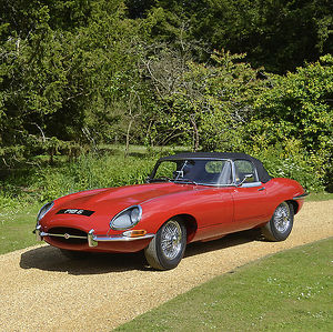 Jaguar E-Type 4.2 Roadster 1967 Red