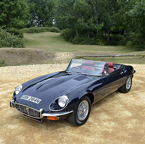 Jaguar E-Type 5.3 V12 Roadster 1974 Blue v.dark