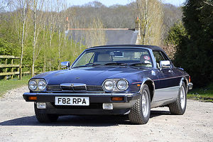 Jaguar XJS V12 Convertible, Guy Salmon 25th Anniversary Ltd Edition (1 of 5 made)