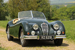 Jaguar XK140 Roadster 1968 Green dark