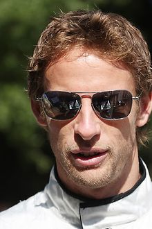 Jensen Button F1 GP racing driver