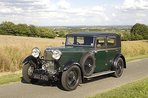 Lagonda 16-80 Saloon, 1933, Green