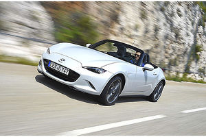Mazda MX5 (Mk.4) 2015 White & black
