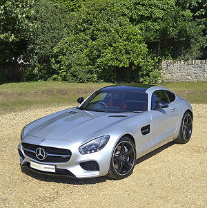 car photo library/mg/mercedes benz amg gt auto 2016 silver black