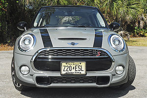Mini Cooper S 5-Door 2015 Grey & black