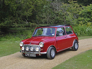 Mini Mini 1968 Red black roof