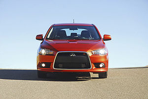 Mitsubishi Lancer Ralliart Sportback 2010 orange