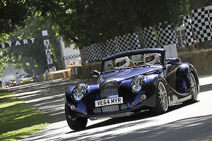 Morgan Aero 8 2015 Blue dark