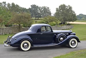 Packard V12 1936 Blue dark