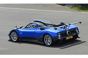 Pagani Zonda PS (upgraded to 760RS spec) 2013 Blue & black