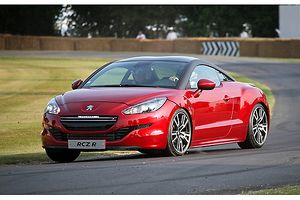 Peugeot RCZ-R 2013 Red & black