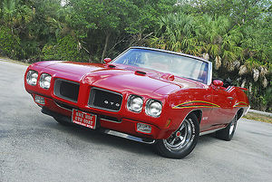 Pontiac GTO Convertible 1970 Red