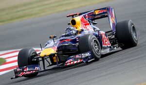 Red Bull Racing with Renault Engine Sebastian