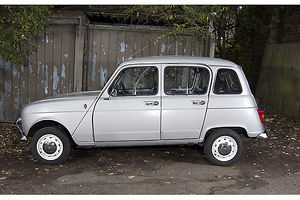 Renault 4 1986 Silver