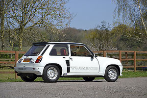 Renault 5 Turbo 2 1983 White