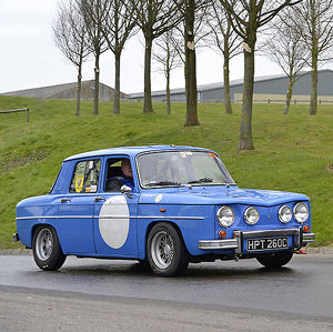 Renault 8 Gordini 1965 Blue & white