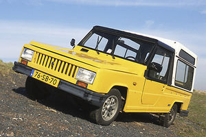 Renault Rodeo 6 1980 Yellow
