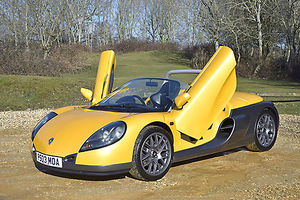 Renault Sport Spider 1997 Yellow & grey