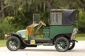 Renault Town Car 1910 Green