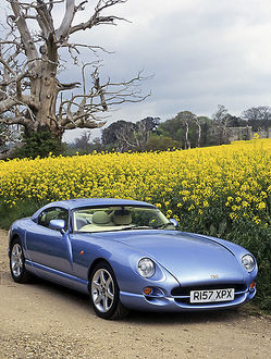 TVR Cerbera 4.2 1998 Blue ice, metallic