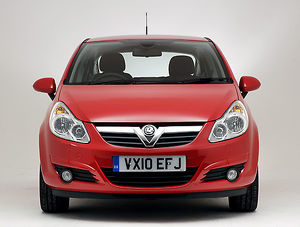 Vauxhall Corsa 1.4 SE 2010 Red