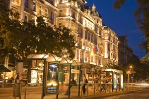 5 star Corinthia Crown Grand Hotel Royal, Pest side of Central Budapest, Capital
